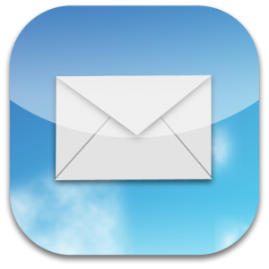 iPhone E mail Icon
